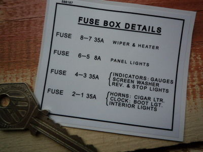 rover land rover fuse box details special offer sticker 3 rh isaydingdong co uk land rover series 2 fuse box location land rover series 3 fuse box location