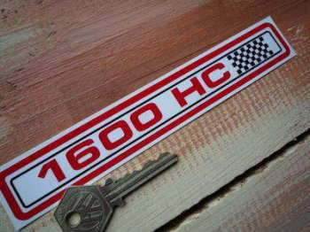 "Ford Escort 1600 HC Special Offer Sticker. 6.75""."