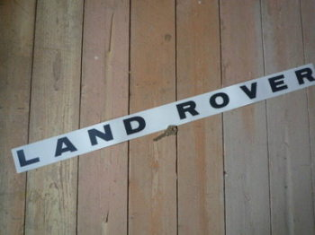 "Land Rover Cut Vinyl Original Spaced Out Sticker. 30""."