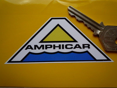 "Amphicar 'A' Logo Sticker. 4""."