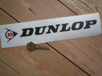 Dunlop Cut Letters & Red 'D' Logo Stickers. 6