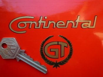"Royal Enfield Continental GT Cut Vinyl Sticker. 4""."