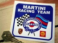"Martini Racing Sticker. 4""."