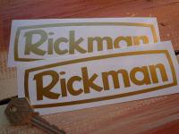 Rickman Cut Vinyl Stickers. 6