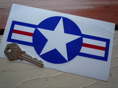 "USAAF Logo Sticker. 6"" or 12""."