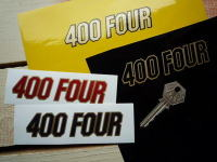 "Honda 400 Four Sticker. 4""."