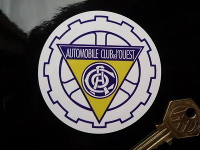 "ACO 1960's & 70's Circular Sticker. 3""."