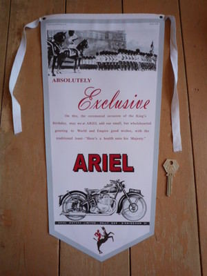 Ariel Absolutely Exclusive Banner Pennant.