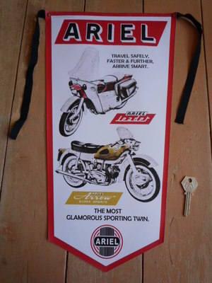 Ariel Leader & Arrow Banner Pennant.