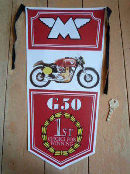 Matchless G50 Banner Pennant.