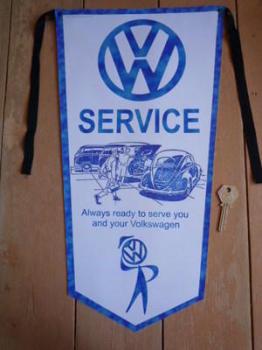 VW Volkswagen Service Banner Pennant