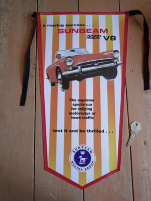 Sunbeam Tiger V8 Banner Pennant