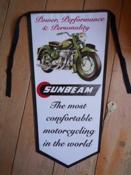Sunbeam S7 Power, Performance & Personality Pennant