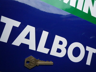 Talbot Cut Vinyl Sticker. 10