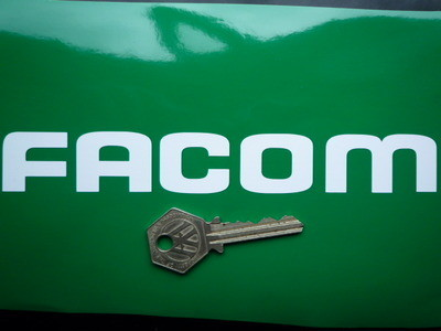 Facom Cut Vinyl Text Stickers. 7