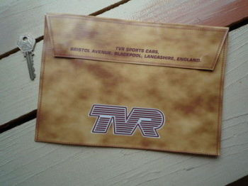 "TVR Document Holder Toolbag. 10"". Slight Second 107."