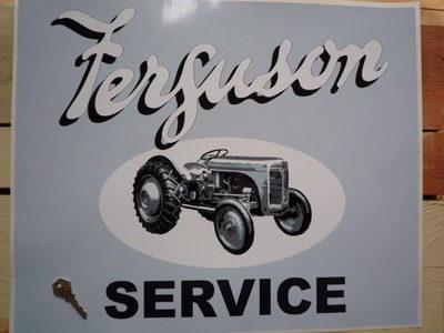"Ferguson Tractor Service Sticker. 22""."