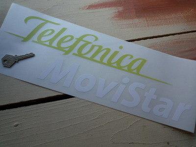 "Telefonica MoviStar Sticker. 10""."