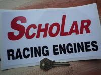Scholar Racing Engines Formula Racing Sticker. 8