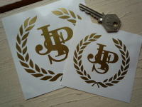 John Player Special JPS Garland Cut Vinyl Sticker. 3