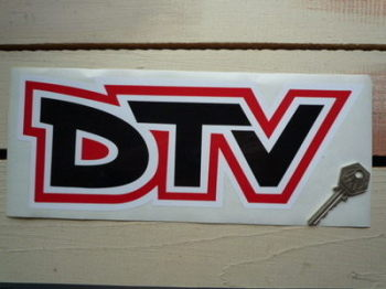 "Vauxhall Dealer Team DTV Text Sticker. 11""."