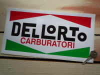Dellorto Carburatori Oblong Sticker. 12