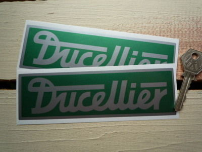 "Ducellier Oblong Stickers. 6"" Pair."