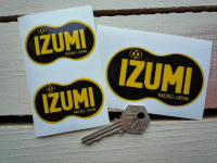 Izumi Racing Japan Stickers. 2.5