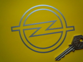 "Opel Logo Cut Vinyl Sticker. 4.5""."