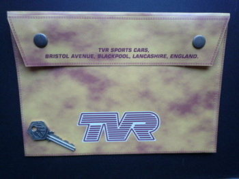 "TVR Document Holder/Toolbag. 10""."