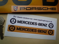 Mercedes Benz Number Plate Dealer Logo Cover Stickers. 5.5