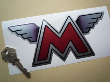 "Matchless Winged M Sticker. 7""."