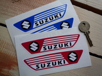 Suzuki Old Works Grand Prix Bike 60's Style Stickers. 4.75
