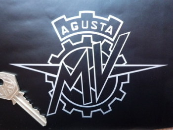 "MV Agusta Cut Vinyl Sticker. 5.5"" or 11""."