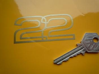 "Lotus 2.2 Cut Vinyl Sticker. 3""."
