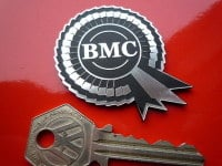 "BMC Rosette Laser Cut Self Adhesive Car Badge. 2""."