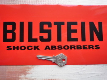 "Bilstein Shock Absorbers Cut Vinyl Text Sticker. 5.5"" 7"", 7.5"", 8.5"", or 12""."