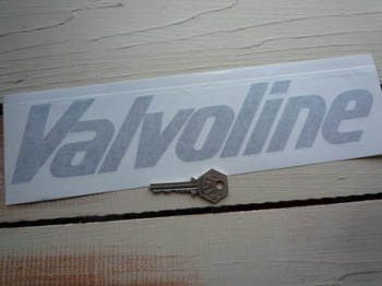 "Valvoline Cut Vinyl Text Sticker. 12""."