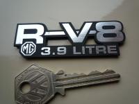 MG R V8 RV8 3.9 Litre Laser Cut Self Adhesive Car Badge. 3