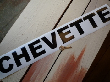 "Vauxhall Chevette Cut Text Sticker. 25.5""."