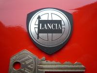 "Lancia Shield Laser Cut Self Adhesive Car Badge. 1.75""."