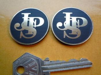 JPS John Player Special Self Adhesive Car Badges. 17mm, 25mm or 37mm Pair.