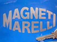 "Magneti Marelli Cut Vinyl Stickers. 4"", 6"" or 8"" Pair."