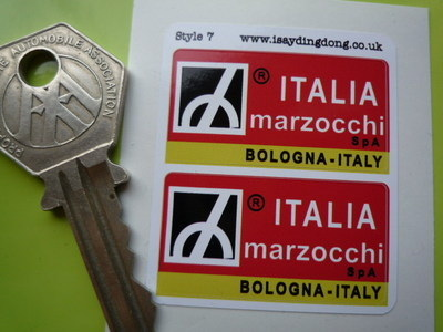 Marzocchi Italia Suspension Stickers. 1.5