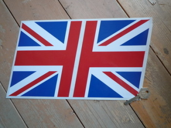 "John Player Special Half Union Jack Stickers. 5.5"" Pair."