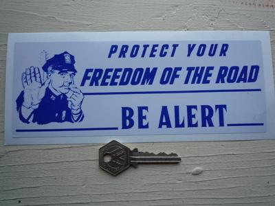 "California Highway Patrol Road Safety Bumper Sticker. 8""."