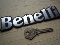 Benelli Laser Cut Self Adhesive Bike Badges. 4