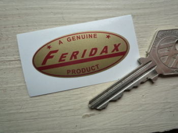 "A Genuine Feridax Product Sticker. 2""."