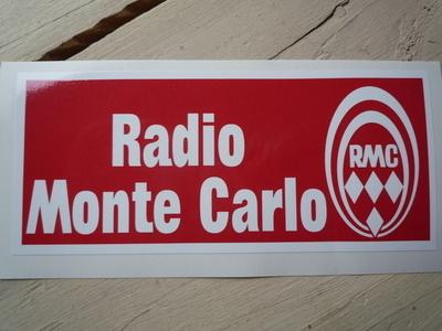 "Radio Monte Carlo RMC Sticker. 5""."