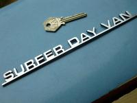 Surfer Day Van Laser Cut Self Adhesive Car Camper Badge. 8